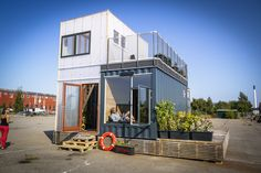 CPH Shelter Built with organic materials and upcycled shipping containers, the eco-friendly CPH Shelters offer a plug-and-play housing solution that can be moved and installed almost anywhere in the world.