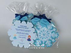 Convite floco de neve Frozen  :: flavoli.net - Papelaria Personalizada :: Contato: (21) 98-836-0113 vendas@flavoli.net