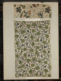 Pillow case. 1600-1629. British. V Museum, London.