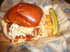 New Food Network Bacon Sloppy Joes at Miller Park!