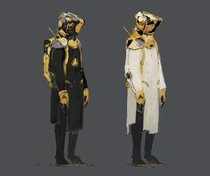 sci-fi character concept, Ivan Solyaev on ArtStation at http://www.artstation.com/artwork/sci-fi-character-concept