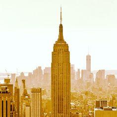 MANHATTAN en mode vintage - souvenir de voyage -