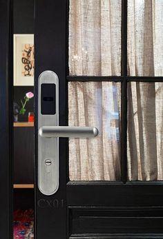 Avent Security RFID card reader door lock hotel smart card reader door lock