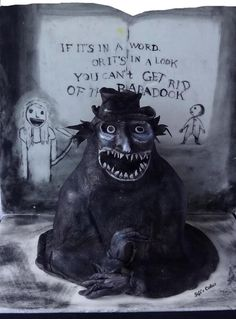 Mr Babadook - Cakes That Go Bump In The Night collaboration Babadook, Spooky Halloween, Themed Cakes, Horror Movies, Cool Stuff, Scary Stuff, Amazing Cakes, Bump, Cool Words
