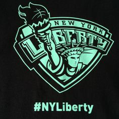 WNBA  NYC Lady Liberty 2015 Opening Season Promo T-shirt XL #Gildan #NewYorkLiberty