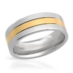 Size 8. Stylish ring beautifully crafted in stainless steel