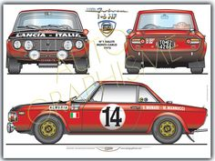 Automobiles - Gerhal272 - Lancia Fulvia 1.6 Hf
