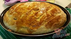 Domácí chléb | NejRecept.cz Hungarian Recipes, Russian Recipes, Czech Recipes, Good Food, Yummy Food, Bread Baking, Food To Make, Food And Drink, Cooking Recipes