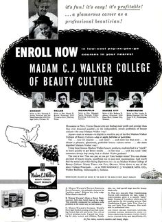 a biology of madam cj walker the first female self made millionaire in america One such person was madam c j walker, america's first black  madam cj  walker, the first self-made american female millionaire of any.