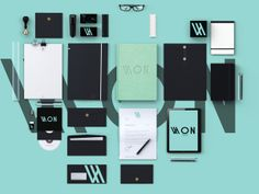WON Architects / Work Of Nameless Architects by Hassan Sesay, via Behance