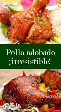 Pollo adobado   CocinaDelirante