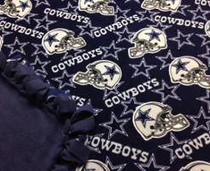 70d51b30d4 Dallas Cowboys Fleece Blanket-No Sew Fleece by LisasBounty on Etsy No Sew  Fleece Blanket