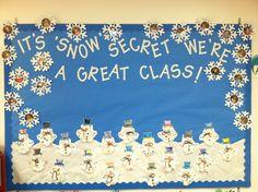 Winter bulletin board: Preschool Snow Boards, Winter Boards, Doors ...