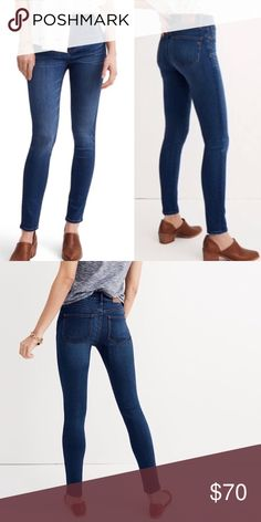 Madewell The Roadtripper Skinny Jeans Size 29 In excellent condition High-rise   Sold out online Madewell Jeans Skinny