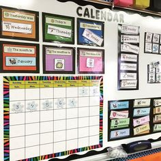 How to set up a calendar in a special education classroom.  Include hands on…