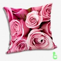 Pink roses Pillow Cases