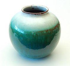 Afbeeldingsresultaat voor mobach Teal, Turquoise, Ceramic Design, Vintage Pottery, Royal Doulton, Utrecht, Pottery Vase, Stoneware, Blue Green