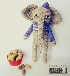 Amigurumi Elephant Pattern by Mongoreto on Etsy