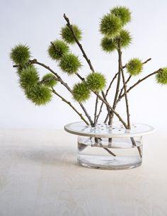 Pierced Flower Rests by David Stark   Gardenista