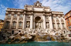 One of my FAV cities! Rome, Italy- Trevi Fountain