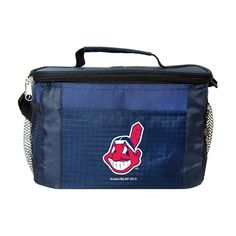 MLB 2014 6 Pack Cooler Lunch Tote (Cleveland Indians)