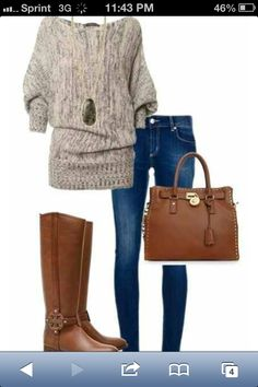 Cute idea for handbag and boots