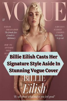 """Ever since she captured the world's attention with """"Bad Guy,"""" there's a certain way that we've grown used to seeing Billie Eilish. For years, picturing her would bring to mind a young woman with long black and green hair clad in oversized baggy clothes. According to USA Today, this fashion choice in particular came as a means to prevent people from body shaming her since they weren't able to see much of her body shape as a result. Gold Watches Women, Rose Gold Watches, Girl Shoulder Tattoos, Angelina Jolie Style, Baggy Clothes, Body Shaming, Amazing Buildings, Vogue Covers, Hand Jewelry"""