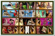 Create Wedding Album: Most Beautiful Karizma Album Design Templates PSD ...