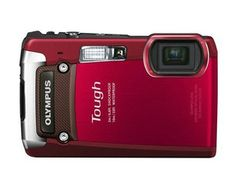 Brand New Olympus Tough TG-820 iHS 12.0 MP WATER PROOF Digital Camera - Red