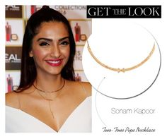Get the Look:  Sonam Kapoor -  Collar Necklace by rajjewels on Polyvore