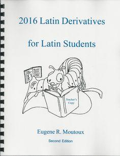 Latin Derivatives English Words from Latin