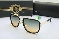 6cf6f6e7de DITA Sunglasses Vogue Brand Designer Square Gold Frame Brown Gradient Lens Dita  Mach One Sunglasses Women Men Oculos De Sol 62133 dd