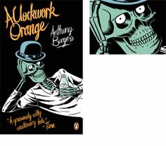 A Clockwork Orange by Anthony Burgess  Artist ~ Kristian Hammerstad  Kristian Hammerstad is a trained illustrator and self-taught animator. He began his career working in commercial animation in the United Kingdom, and now works mainly as an illustrator. His work has recently appeared in magazines and online for clients including the New Yorker, The New York Times Magazine and AOL.