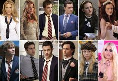 GG stars season 1 and 5 pics, of course the humphreys were the only ones to turn out worse...