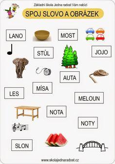 Pracovní listy - čtení:    Které písmenko chybí?   V každé skupině slov chybí jedno písmenko. Najdeš ho?   Ke stažení z tohoto pdf souboru ...