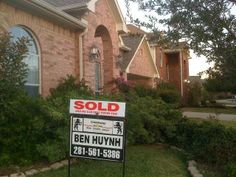 SOLD by Ben Huynh, REALTOR(R).  I Can SELL Yours!  #BenHuynhRealtor