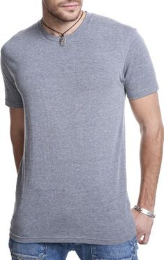 Next Level Apparel Tri-Blend Crewneck T-Shirt, Premium Heather, Small Next Level http://www.amazon.com/dp/B004OWJAYC/ref=cm_sw_r_pi_dp_qCb1ub03GJ173