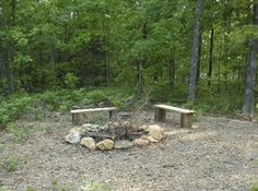 Rustic Fire Pit For Cool Autumn Evenings