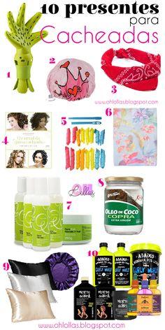 10 Ideias de Presentes para Cacheadas - Oh, Lollas