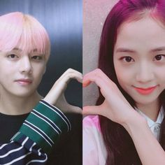 Taehyung, Blackpink And Bts, Ji Soo, Diva, Photoshop, Kpop, My Love, Couples, Pictures