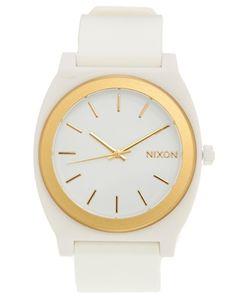 Nixon Time Teller P White Watch