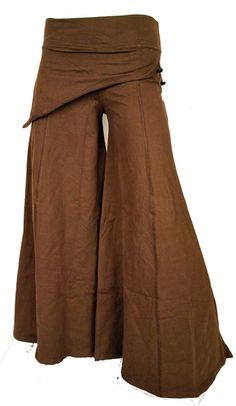 Skirted Boho Pants