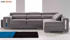 Sofá chaiselongue modelo Five en Sofassinfin.es