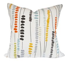 Romo Bead Strands Decorative Pillow Cover  by PillowTimeGirls