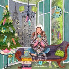 Christmas greeting cards Cartita Design ©2016