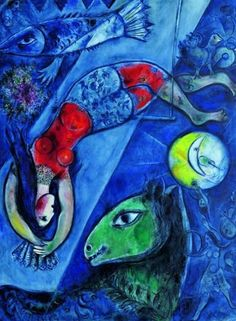 The Blue Circus: Marc Chagall