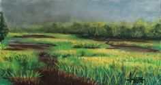 Pastel Lessons by Lewis Isaac Testa: ANOTHER MINI PASTEL LANDSCAPE