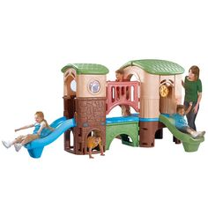 Step2 Naturally Playful Clubhouse Climber - Outdoor and Active Play - Categories