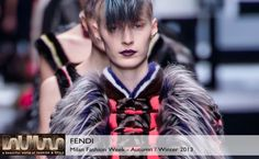 Fendi Fall 2013 #Collection #Fashion #BelleMonde #Style