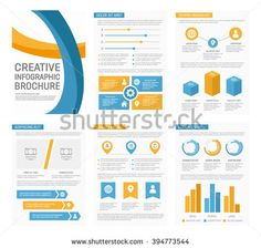 Infographic Presentation Template Infographics Element